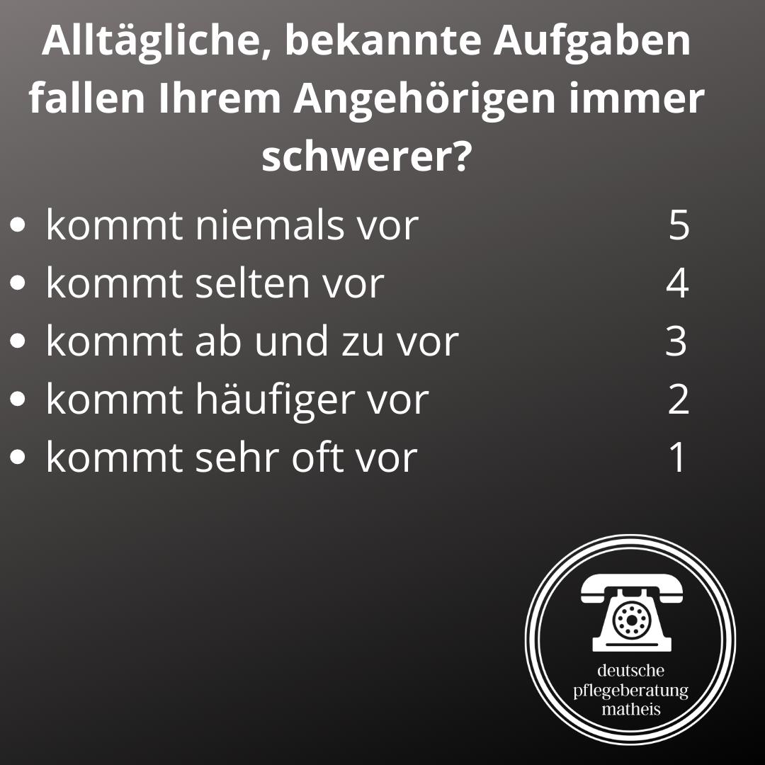 Deutsche Pflegeberatung Matheis Selbsteinschätzung Demenz 11