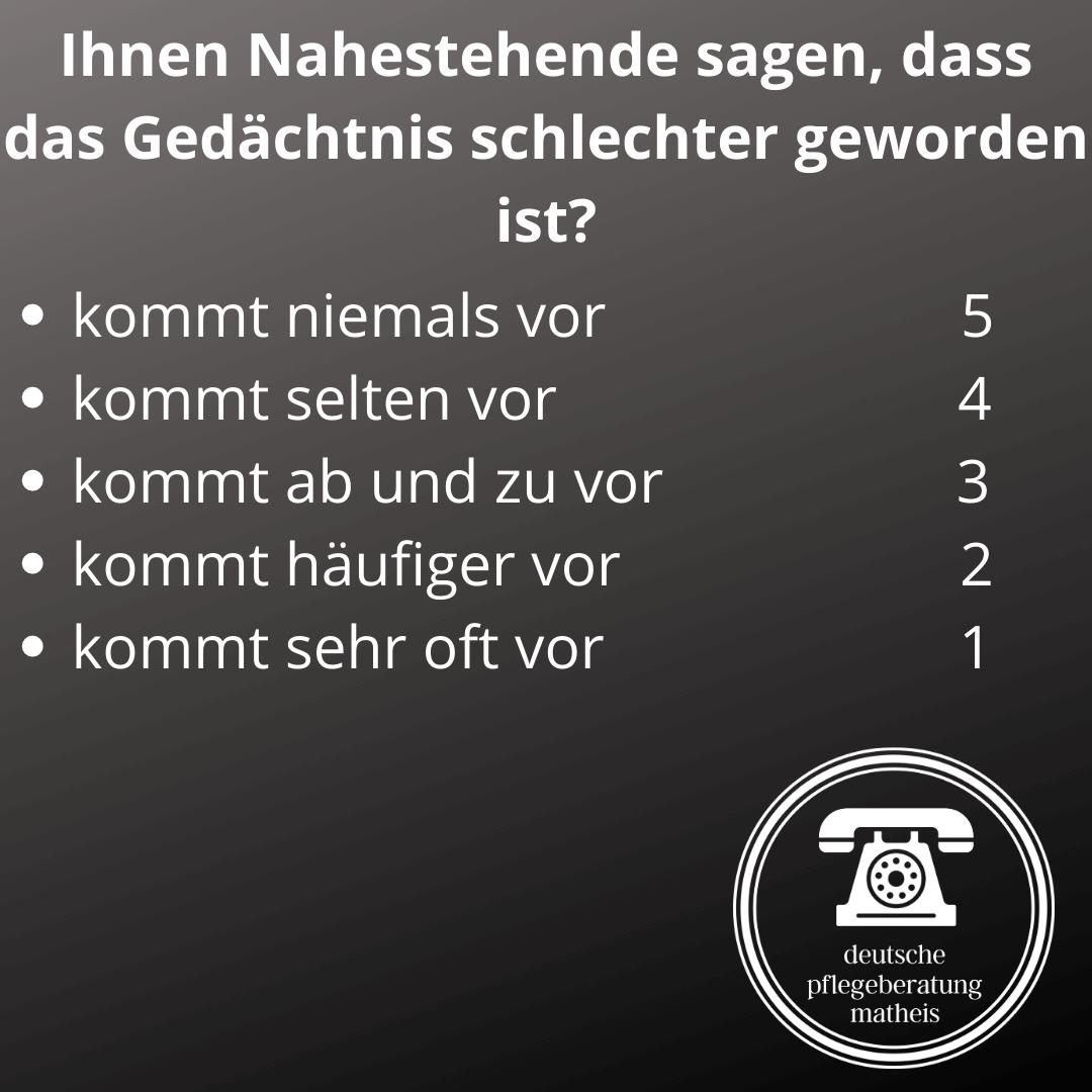Deutsche Pflegeberatung Matheis Selbsteinschätzung Demenz 3