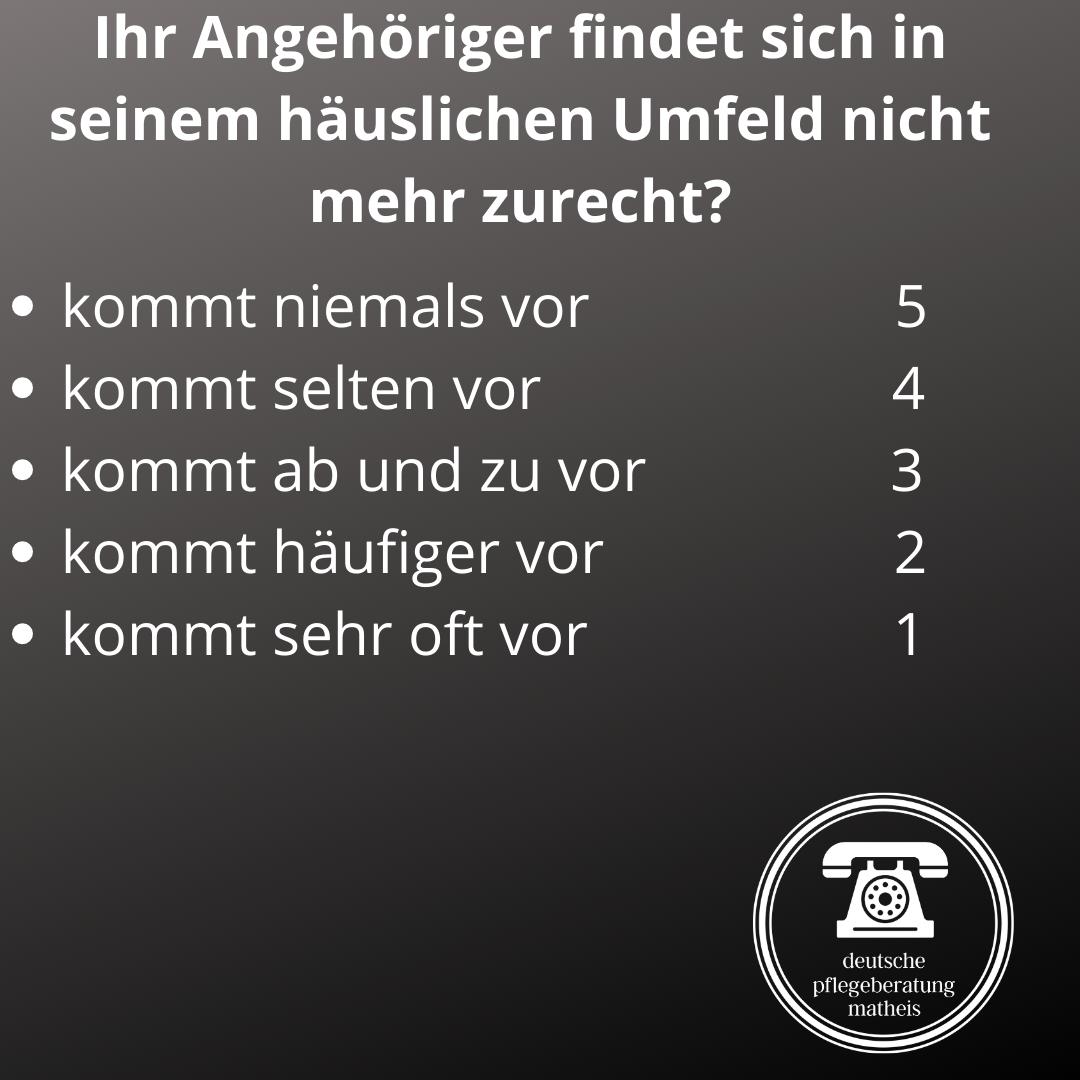Deutsche Pflegeberatung Matheis Selbsteinschätzung Demenz 9