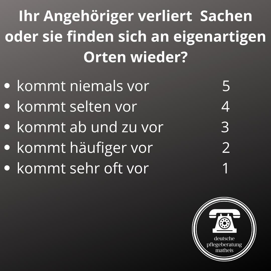 Deutsche Pflegeberatung Matheis Selbsteinschätzung Demenz 5