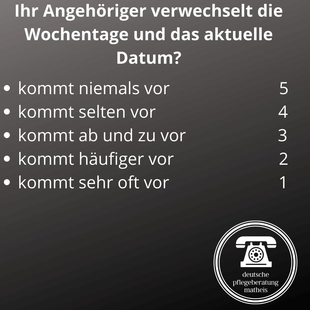 Deutsche Pflegeberatung Matheis Selbsteinschätzung Demenz 2
