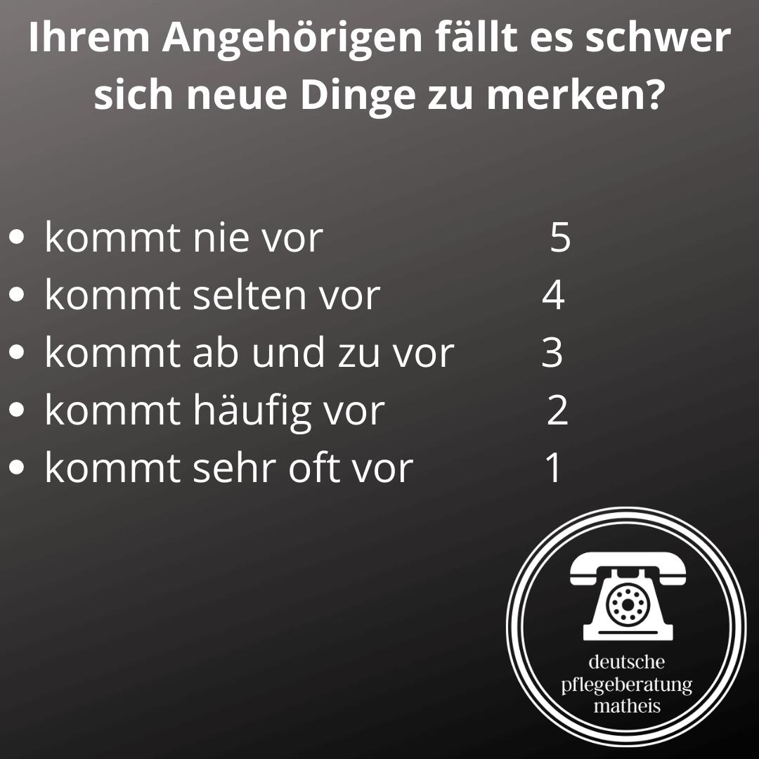 Deutsche Pflegeberatung Matheis Selbsteinschätzung Demenz 4