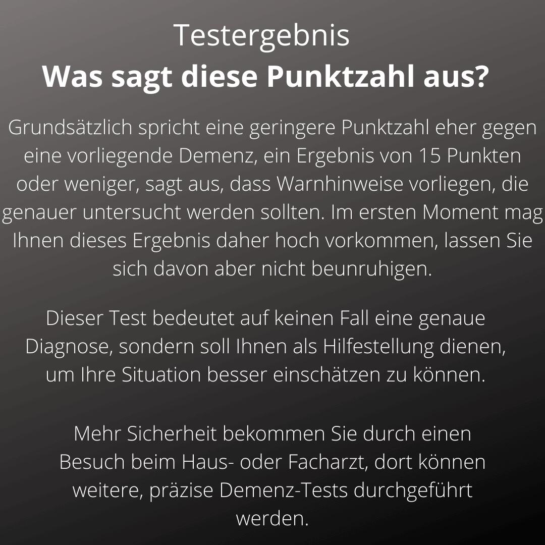 Deutsche Pflegeberatung Matheis Selbsteinschätzung Demenz 1