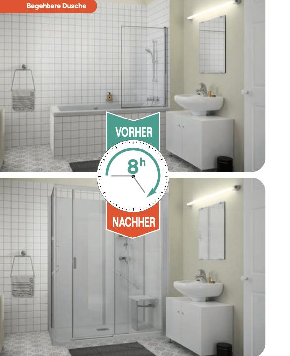barrierfreies Bad Umbau München